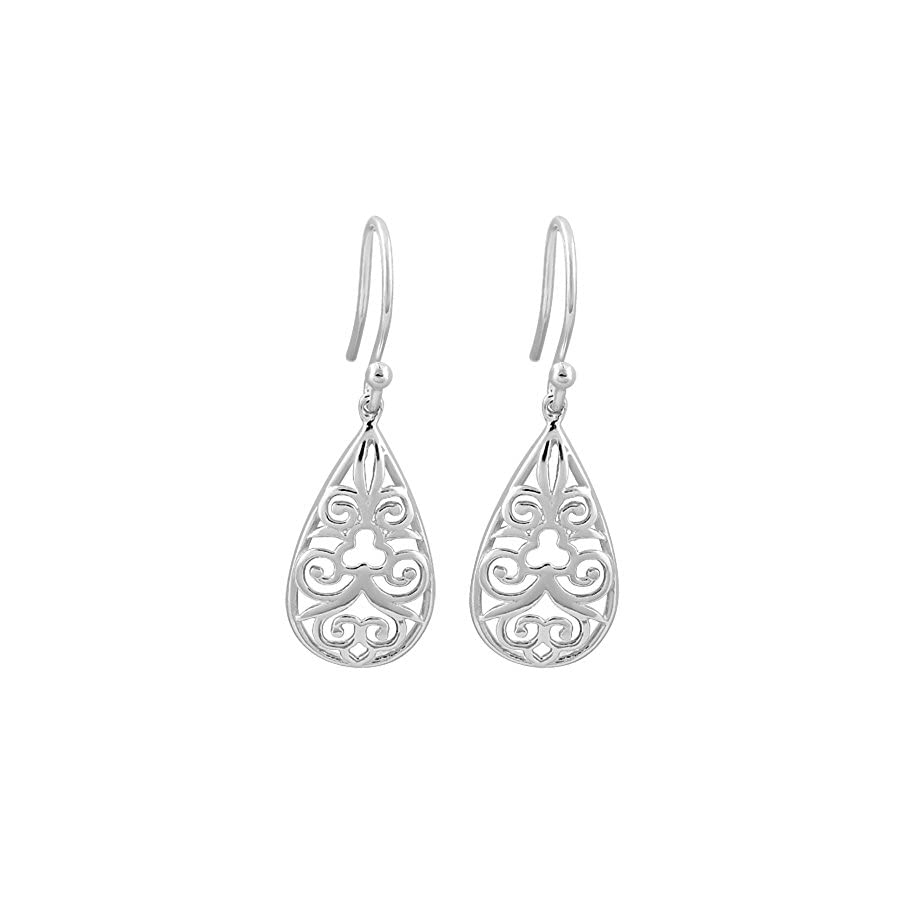 Sterling Silver Drops, Symbolic Tree of Life and More. Earrings