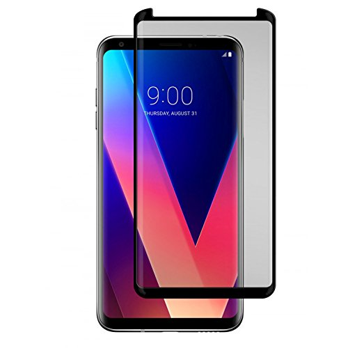 Gadget Guard Black Ice Cornice Curved Edition Tempered Glass Screen Guard For LG V30/V30 Plus - Clear by Gadget Guard