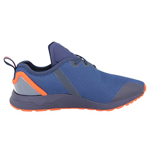adidas Originals ZX FLUX ADV ASYMETRICAL Blau Orange Herren Sneakers Schuhe Neu