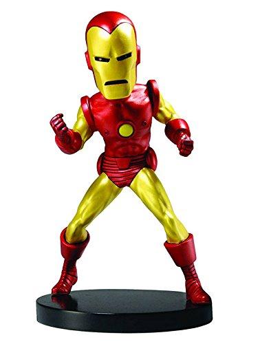 NECA Marvel Classic Head Knocker Iron Man Toy