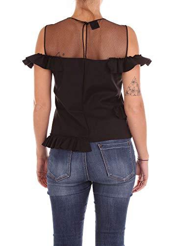 Femme Coton Pinko Top 1b132c6802z99 Noir dgfYFwFq4n
