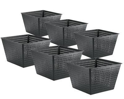 Bulk Buy of Little Giant Aquatic Plant Baskets, Square, 11'' L
