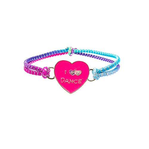 Multi Stretch Lurex Bracelet (Ballerina Heart) ()