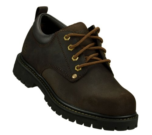 Skechers USA Men's Alley Cat Utility Oxford,Brown,11 M US 7111