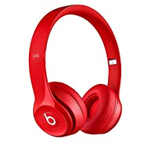 Beats Solo 2 Wired Headphones - Red