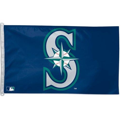 Wincraft MLB Seattle Mariners WCR88837091 Team Flag, 3' x 5'