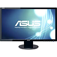 Asus Computer International - Asus Ve247h 23.6 Led Lcd Monitor - 16:9 - 2 Ms - Adjustable Display Angle - 1920 X 1080 - 16.7 Million Colors - 300 Nit - 10,000,000:1 - Full Hd - Speakers - Dvi - Hdmi - Vga - 34.90 W - Black - Energy Star, Rohs, Weee Product Category: Computer Displays/Monitors