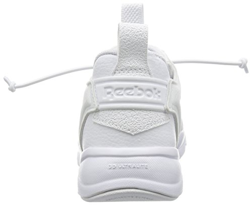 Reebok Furylite, Zapatillas para Hombre Blanco (White/White/Black)
