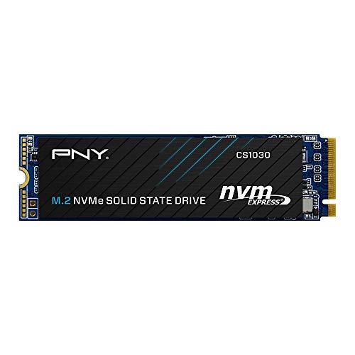 Unidad de estado sólido interno (SSD) PNY CS1030 M.2 NVMe PCIe Gen3 x4 de 1TB - M280CS1030-1TB-RB