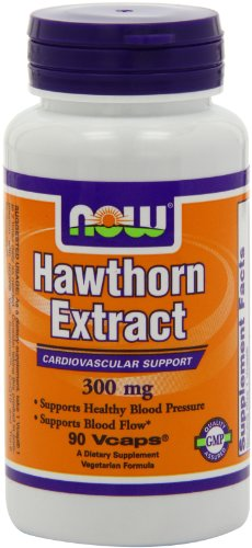 Now Foods Hawthorn Extractract  300mg, Veg-capsules, 90-Count, Health Care Stuffs