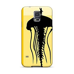 Samsung Galaxy S5 PcF2129IFBB Allow Personal Design Realistic Green Day Image Scratch Resistant Cell-phone Hard Cover -AaronBlanchette