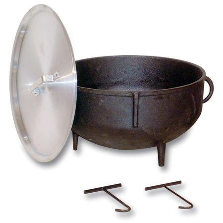 King Kooker 5-Gallon Heavy-Duty Cast Iron Jambalaya Pot