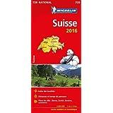 Carte Suisse 2016 Michelin