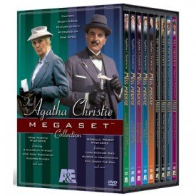 The Agatha Christie Megaset Collection (Miss Marple / Poirot) : A Caribbean Mystery; the Mirror Cracked From Side to Side ,Sleeping Murder; 4:50 From Paddington ,The Moving Finger; At Bertram's Hotel ,Murder At the Vicarage; Nemesis ,They Do It with Mirrors , Poirot: Lord Edgware Dies , Poirot: The Murder of Roger Ackroyd ,Poirot: Murder in Mesopotamia , Poirot: Evil Under the Sun