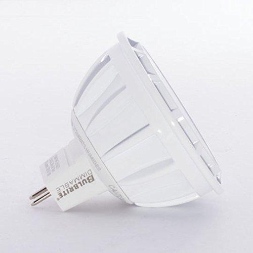 Bulbrite 771302 LED8MR16NF25//50//827//D 8W Led Dimmable MR16 Light Bulb Warm White
