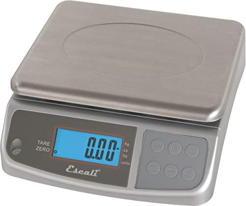 San Jamar SCDGM33 M-Series Digital Food/Kitchen Scale, 33lb Capacity