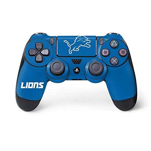 Detroit Lions Nfl Leather - NFL Detroit Lions Distressed Skin for Sony PlayStation 4/ PS4 Dual Shock4 Controller