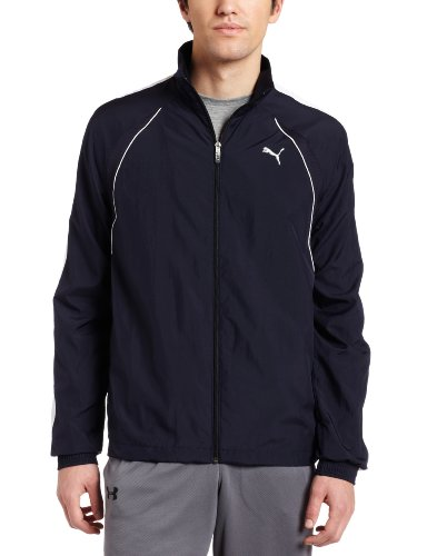 PUMA Men's Woven Tracksuit 2 Jacket, New Navy/White