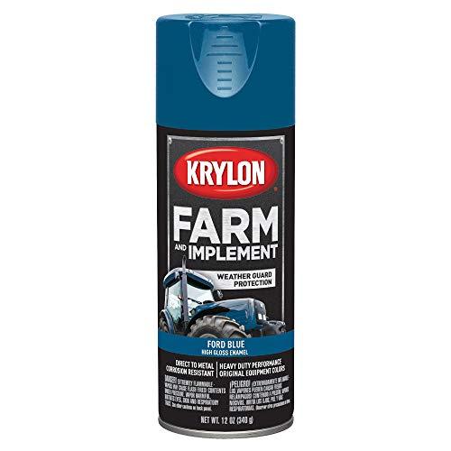 (Krylon K01936000 Ford Blue Farm and Implement Paint - 12 oz.)