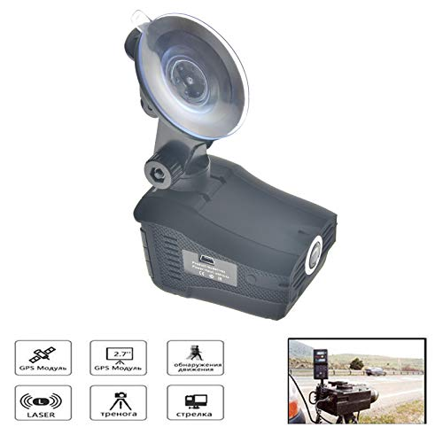 toyofmine HD 720P Hidden Car Dash Cam DVR Camera Video Recorder Laser Radar Speed Detector