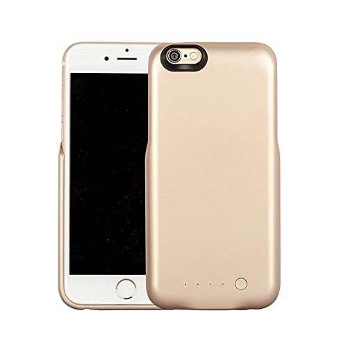 (2016 Model) Nucharger 5000mAh Sleek Design External Battery Case For iPhone 6 / 6S (4.7