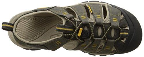 Keen Newport H2, Sandalias de Senderismo para Hombre Varios Colores (Raven /aluminium)