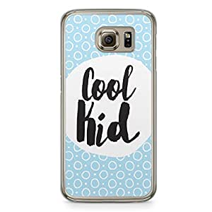 Cool Kid Samsung Galaxy S6 Transparent Edge Case - Titles Collection