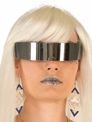 Futuristic Mirror Wrap Around - Glasses Futuristic