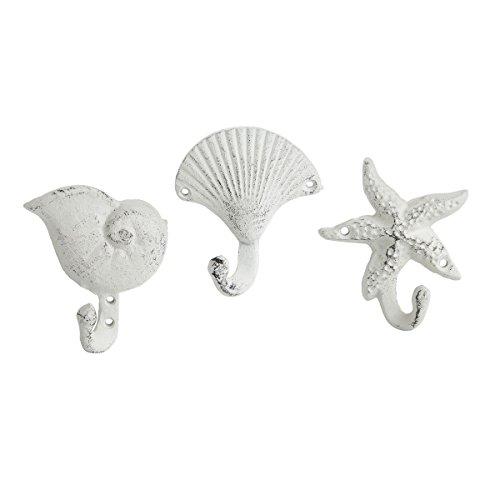 (GALLERIE II Seashell Tropical Coastal Wall Hook A/3 Seashell)