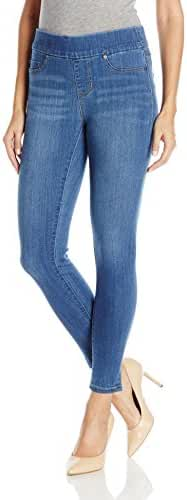 Liverpool Jeans Company Women's Sienna Pull-on Ankle Jean in Silky Soft Denim