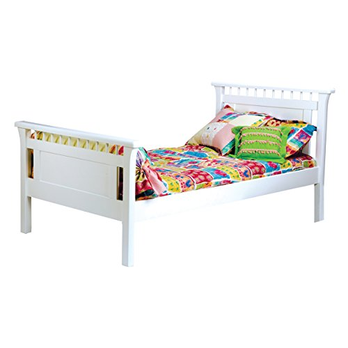 Bolton 9851500 Bennington Bed, Twin, White