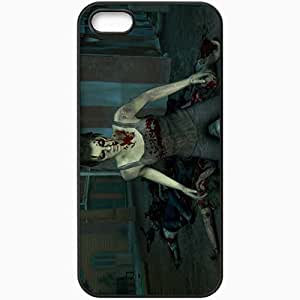 Personalized iPhone 5 5S Cell phone Case/Cover Skin Left 4 Dead 2 Black by lolosakes