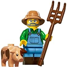 LEGO® Series 15 Minifigure - Farmer with Pig