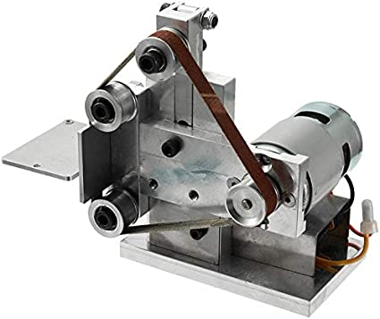 meuleuse dangle /électrique 15 mm//452 mm Adaptateur de t/ête de pon/çage de 5 po M14 WolfGo Mini Ponceuse /à Bande de 4,5 po