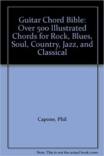 Guitar Chord Bible Over 500 Illustrated Chords For Rock Blues