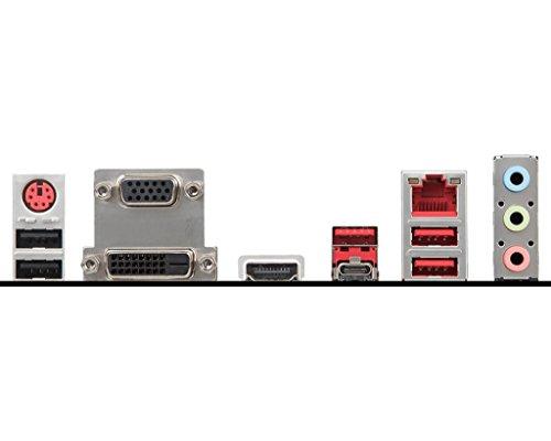 MSI Performance Gaming Intel Coffee Lake B360 LGA 1151 DDR4 Onboard Graphics Micro ATX Motherboard (B360M Gaming Plus) by MSI (Image #4)