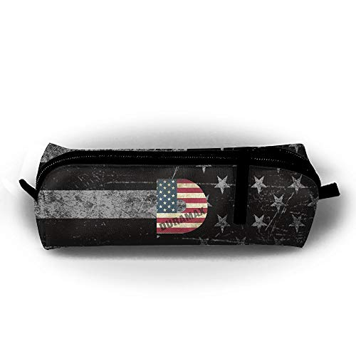 Flag Gel Pen - Mrshelp D Duramax USA Flag 3D Print Pencil Bag Fashion Pencil-Case for Pens,Pencils,Highlighters,Gel Pen,Markers,Eraser and Other School Supplies Unisex