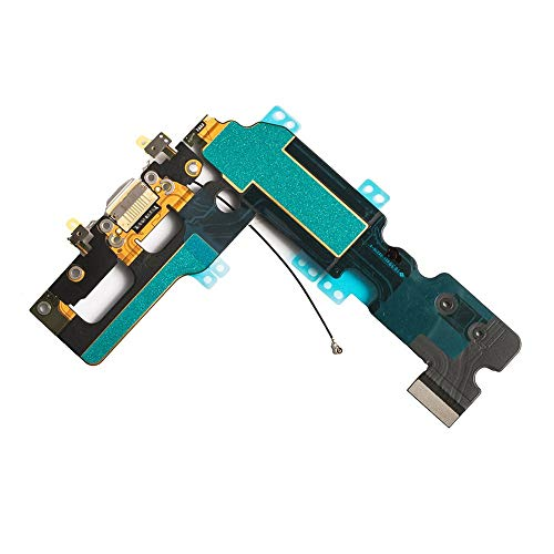 Afeax OEM USB Charging and Headphone Jack Port Dock Connector + Mic Flex Cable + Cellular Antenna Replacement for iPhone 7 Plus 5.5\