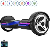 Spadger Premium Hoverboards with Bluetooth and LED Lights, UL 2272 Certified Self Balancing Scooter - for Kids and Adults