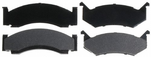 Raybestos SGD269M Service Grade Semi-Metallic Disc Brake Pad Set Dodge Ramcharger Brake Pad