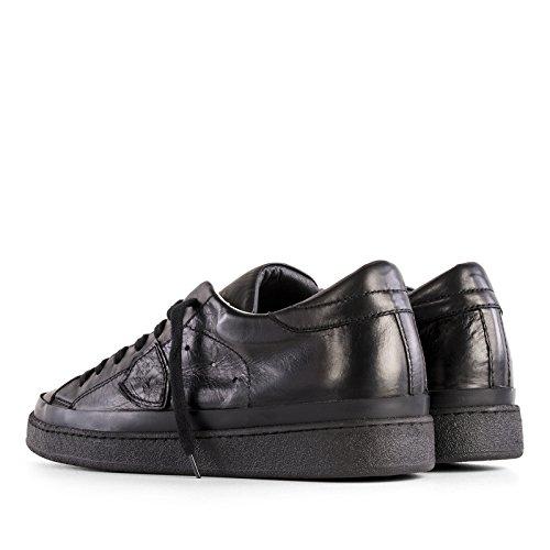 Philippe Model Sneakers Uomo CKLUZE07 Pelle Nero