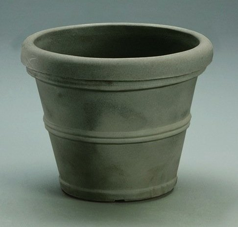 picture of Crescent Garden Brunello Planter, 12-Inch, Weathered Concrete
