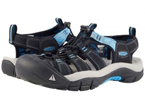 Keen(キーン) レディース 女性用 シューズ 靴 サンダル Newport Hydro - Black/Norse Blue [並行輸入品]