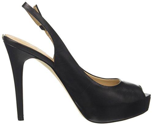 Nero Tacco Open col Plateau Footwear Scarpe Guess Toe Dress Donna con wvZYxP