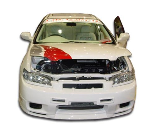 Duraflex Replacement for 1998-2002 Honda Accord 2DR R33 Front Bumper Cover - 1 - Body 2dr Duraflex R33