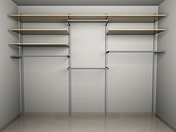 Mensole Per Cabina Armadio : Cabina armadio guardaroba arredamento negozi appenderia ripiani
