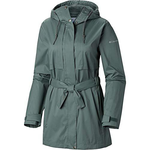 Columbia Women's Pardon My Trench Rain Jacket, Breathable, - Coat Columbia Rain Womens