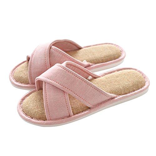 Zapatillas Inicio Parejas Temporada Antideslizante Inicio Opcional Impermeables Zapatillas Opcional Zapatos Algodón Colores de Piso Zapatillas E ZZHF Tamaño Cuatro de 6 0q8xAwd0