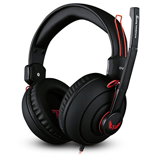 BlackZone Audio - X7 Pro Gaming Headset - Red