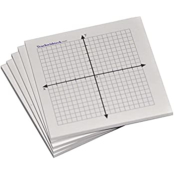 Amazon.Com : Sticky Note Mini Graph Pads - 5 Count - Graph Paper
